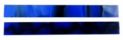 Pen Blank Acryl Blue Thunder 150x16x16 mm