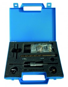 Pen-Turning-Kit MT2 DELUXE in blue case