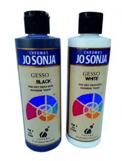 Jo Sonja' s Gesso (Primer) for Acrylic Colours
