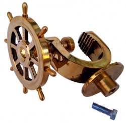 Nut Cracker with Steering Wheel Brass