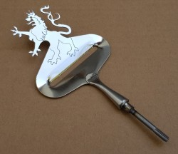 "Cheese Slicer ""Lion"" Stainless Steel approx. 110x70 mm"