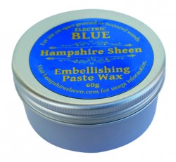 "Hampshire Sheen farbige Wachs Paste ""Electric Blau"""