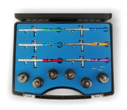 Airbrush Set in Plasic Case