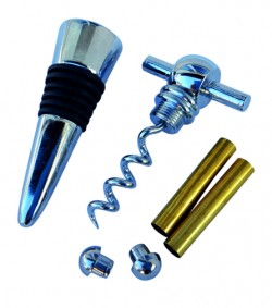 Bottle Stopper/Cork Screw Set