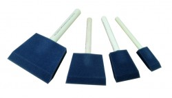 CHESTNUT Foam Brush Set of 4