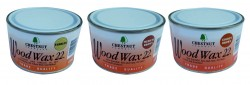 CHESTNUT Wood Wax22 Dose 450 ml farblos, mittelbraun, goldbraun